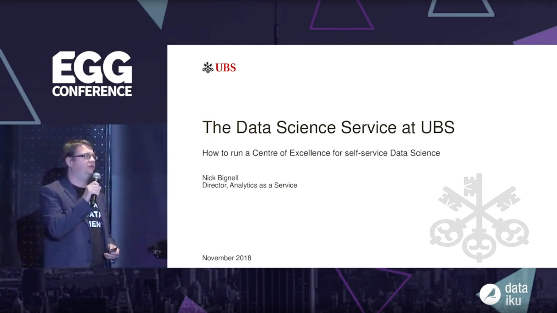 EGG ON AIR thumbnail Running a CoE for Self-Service Data Science-High-Quality